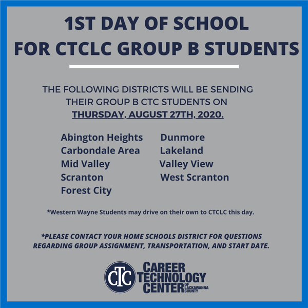 FIrst Day of CTC For Group B Students